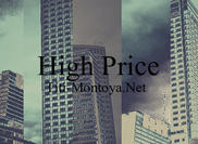 Högt pris