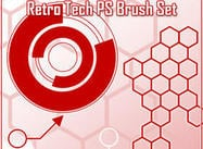 Retro Tech Brush Set