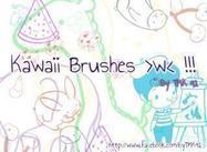 Kawaii Doodle Brushes
