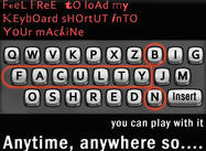 keyboard shortcut
