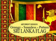 Drapeau Photoshop Pattern pour Sri Lanka