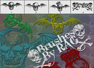 Skull Brush Pack