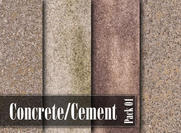Pacote de textura de concreto