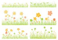 Grass Brush and Flower Brush Pack