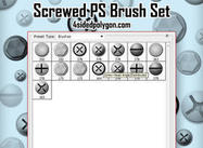 Screwed Brush Set