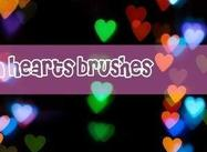 Bokeh Heart Brush Pack von Milana V.