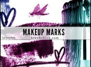 Maquillaje Paquete Brush Mark