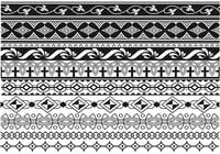 Art Deco Border Brush Pack Zwei