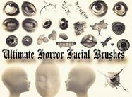 Ultimate Horror Facial Brushes