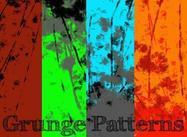 Paquete de patrones de grunge