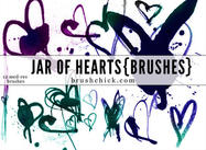 Pack de brosse Jar of Hearts
