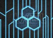 Neon Digital Circuit Technology PSD