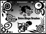Retro Form Brushes