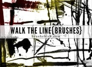Walk the Line Brush Pack