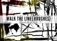 Walk the Line Brush Pack
