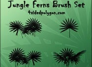 Jungle Fern Pinceles