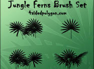 Jungle Fern Brushes