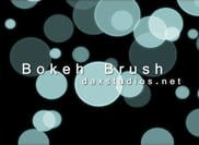 Brokeh Brush Briefmarken