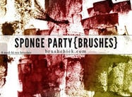 Sponge-party-brush-pack