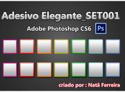 Adesivo elegante_set001