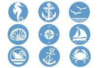 Nautical Symbols Brush Pack