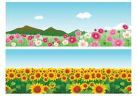 Sommer Blume Wallpaper Pack