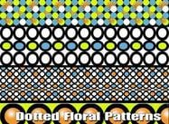 Dotted-floral-patterns