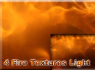 4 Fire Textures Light