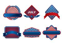 Fourth of July Banner PSD Pack