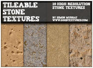 10 Seamless Mixed Stone Textures