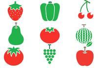 Summer Fruit and Vegetable Brush Pack