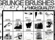 Brosses grunge adobe photoshop grunge 2012