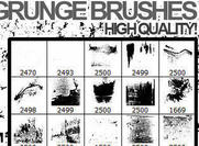 Adobe photoshop grunge brushes 2012
