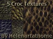 Croc-textures