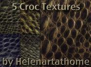 Croc texturen
