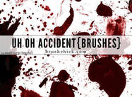 Uh Oh Accident, Splatter Brush Pack