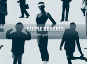People-brushes