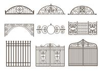 Gates and Fences Brush Pack