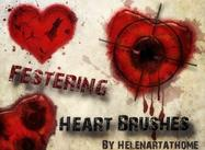 Festering-heart-brushes