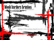 Black-borders-brushes
