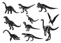 Dinosaurier-Brush-Pack