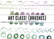 art class watercolor lines