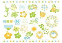 Summer Flower Brush Pack
