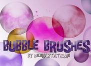 Bubble-brushes