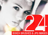 24 Abstract Bokeh Brushes
