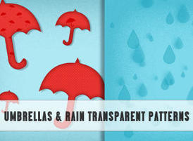 Umbrellas-rain-transparent-patterns
