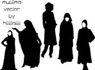 Female-muslima-vector