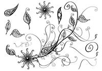 Floral-branch-brush-pack-photoshop-brushes