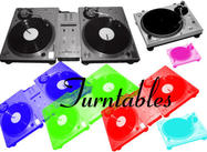 Turntables(Decks) Brushes.