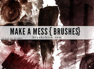 Gör ett Mess Grunge Brush Pack